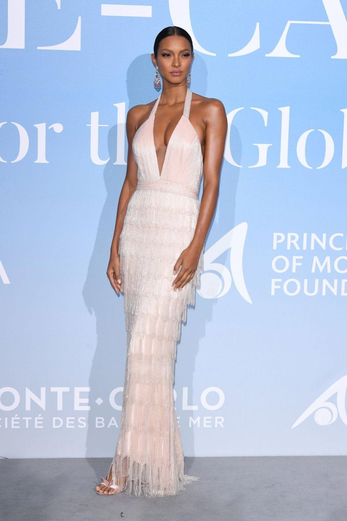 Lais Ribeiro at Gala for the Global Ocean in Monte Carlo 2018/09/26 1