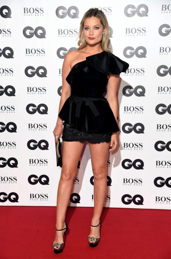 Laura Whitmore at GQ Men of the Year 2018 Awards in London 2018/09/05 1