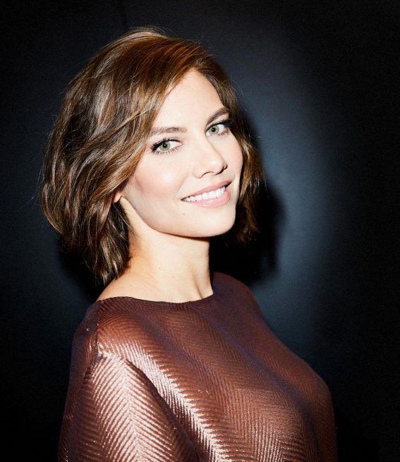 Lauren Cohan for Bustle Magazine Photoshoot, September 2018 1
