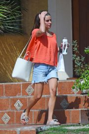 Lea Michele at a Beauty Spa in Los Angeles 2018/08/27 6