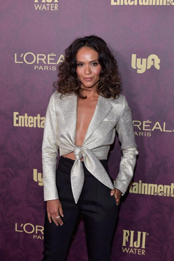 Lesley-Ann Brandt at EW and L'Oreal Paris Pre-emmy Party in Hollywood 2018/09/15 1