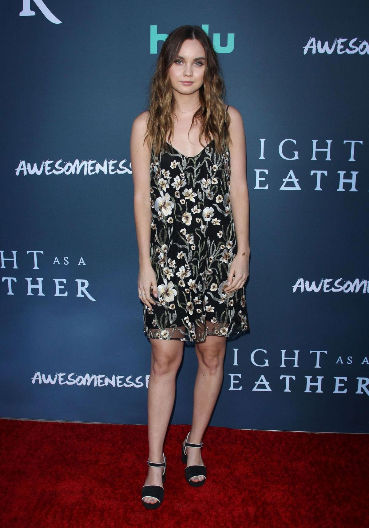 Liana Liberato at Light As a Feather Premiere in Santa Monica 2018/09/27 1