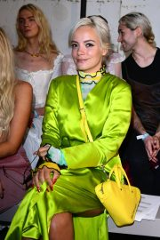 Lily Allen at Fashion East Fashion Show in London 2018/09/16 1