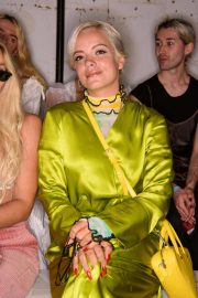 Lily Allen at Fashion East Fashion Show in London 2018/09/16 5