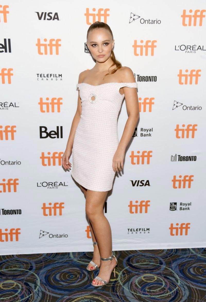 Lily-Rose Depp at A Faithful Man Premiere at TIFF in Toronto 2018/09/09 1