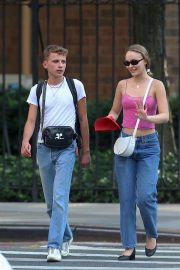 Lily-Rose Depp Out in New York 2018/09/06 6