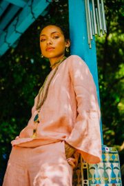 Logan Browning for Refinery 29, August 2018 3
