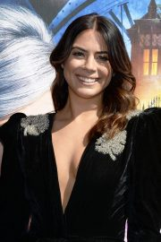 Lorenza Izzo at The House with a Clock in Its Walls Premiere in Hollywood 2018/09/16 10
