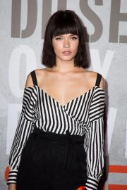 Lula-Allie Villain at Diesel Fragrance Only the Brave Street Launch Party in Paris 2018/09/06 7