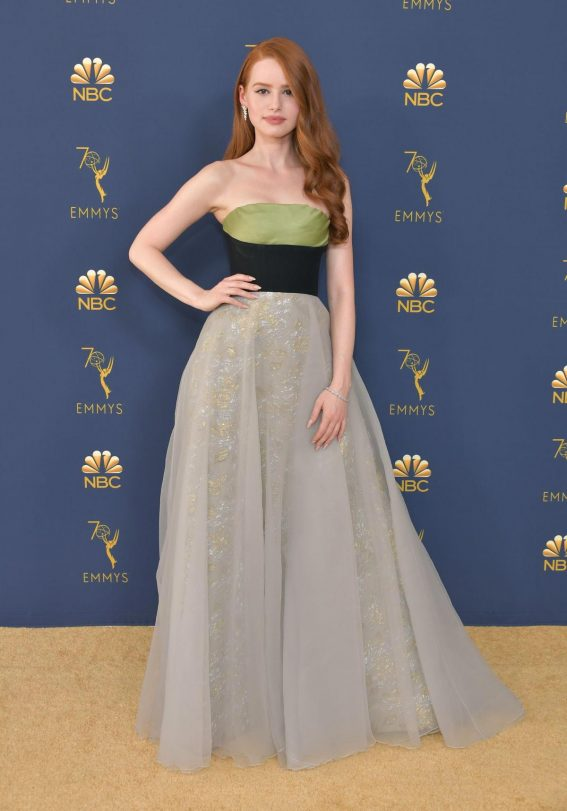 Madelaine Petsch at Emmy Awards 2018 in Los Angeles 2018/09/17 1
