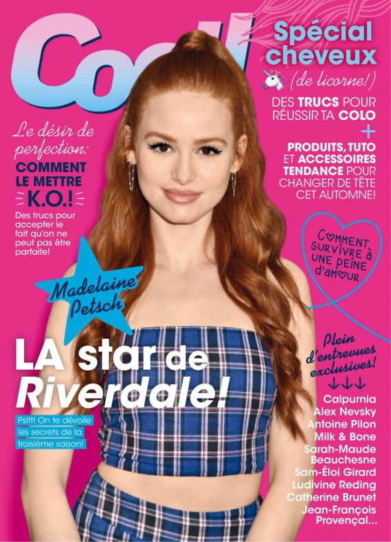 Madelaine Petsch in Cool Canada Magazine, October 2018 1