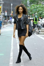 Malaika Firth at Casting Call for Victoria's Secret 2018 Fashion Show 2018 in New York 2018/08/30 4