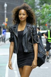 Malaika Firth at Casting Call for Victoria's Secret 2018 Fashion Show 2018 in New York 2018/08/30 5