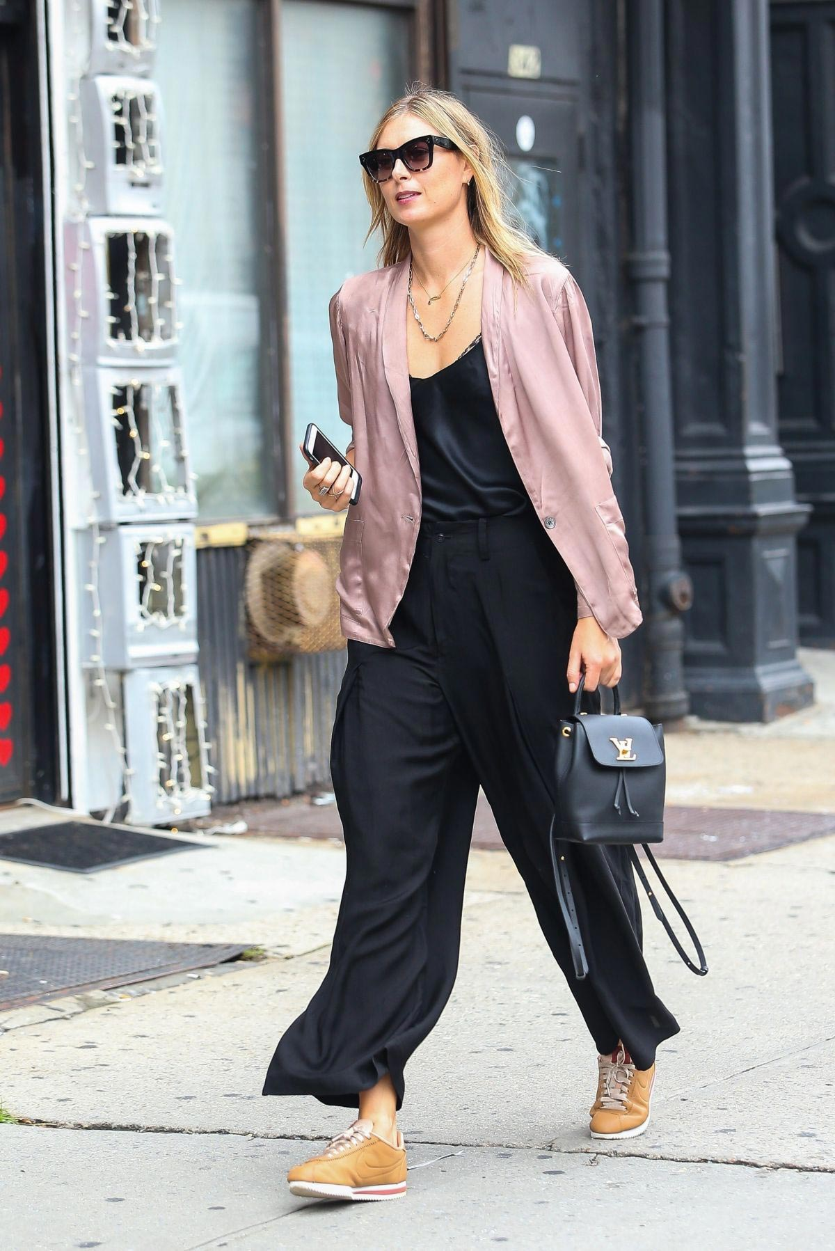 Maria Sharapova Out and About in New York 2018/09/11 1