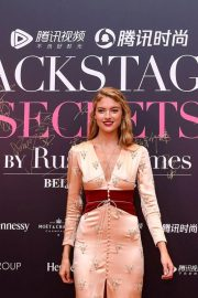 Martha Hunt at Backstage Secrets By Russell James Beijing Exhibit Opening Party 2018/09/14 3