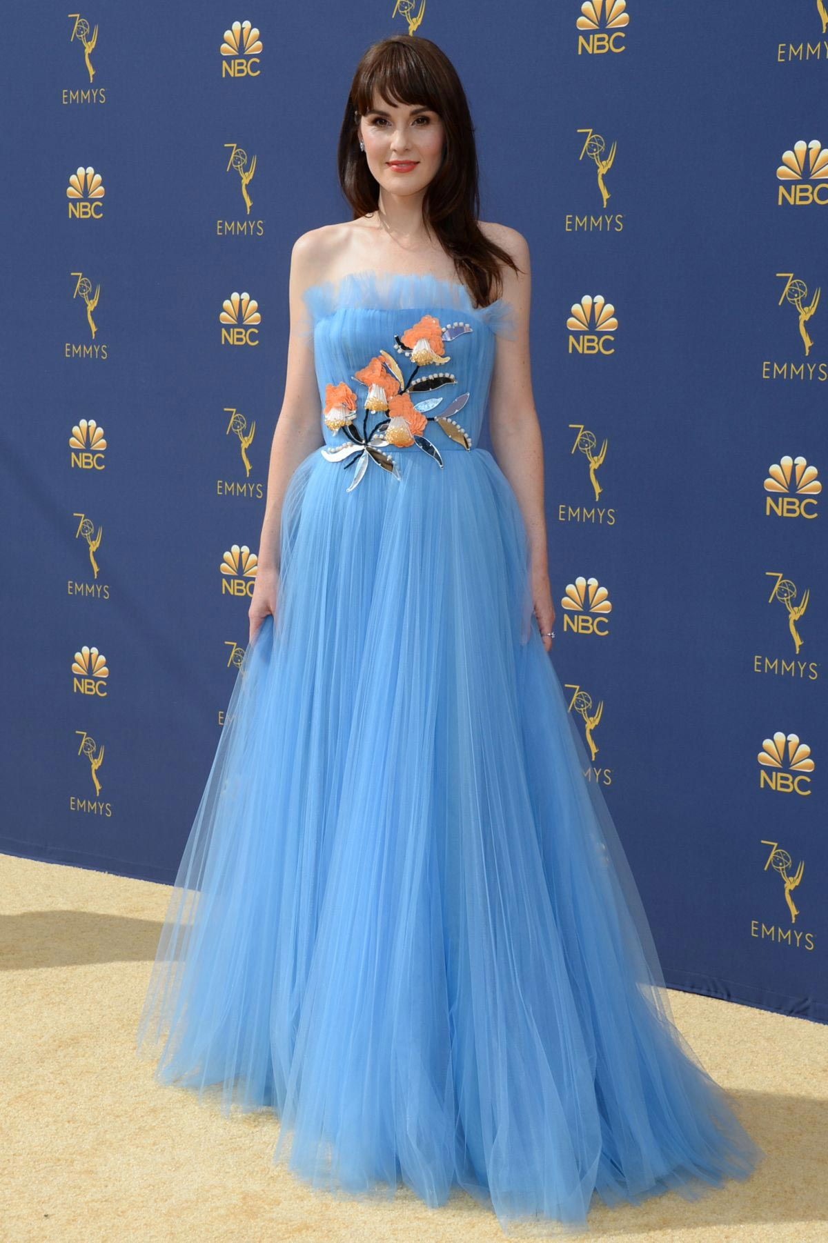 Michelle Dockery at Emmy Awards 2018 in Los Angeles 2018/09/17 1