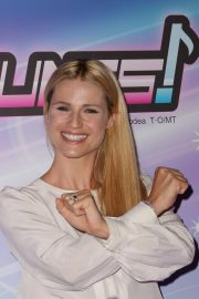 Michelle Hunziker at Miracle Tunes TV Fiction Photocall in Milan 2018/09/30 5