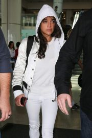 Michelle Rodriguez at Los Angeles International Airport 2018/09/12 2