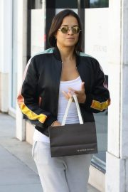 Michelle Rodriguez Shopping at Morgenthal Frederics in Beverly Hills 2018/09/13 9