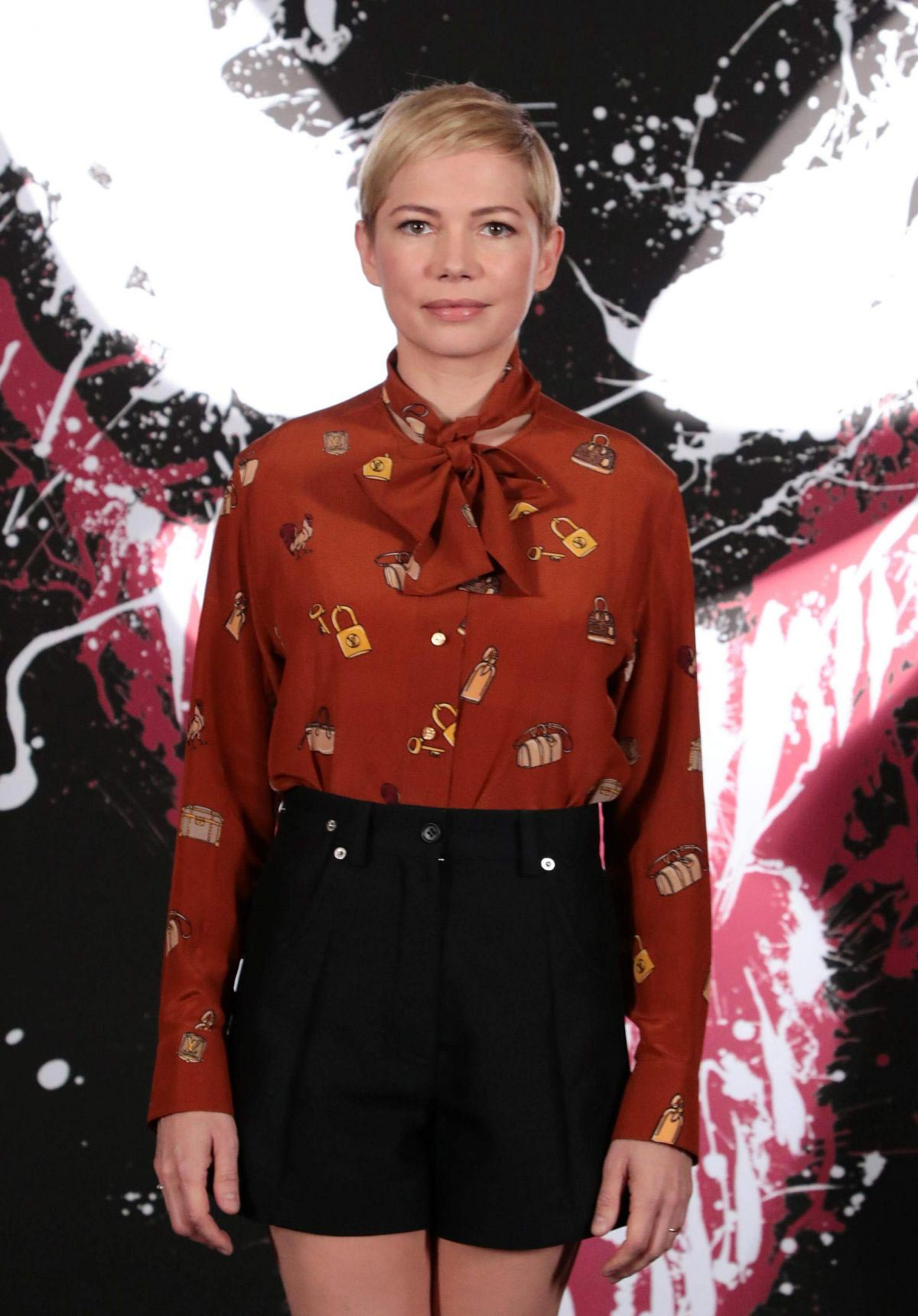Michelle Williams at Venom Photocall in Los Angeles 2018/09/27 1