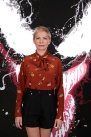 Michelle Williams at Venom Photocall in Los Angeles 2018/09/27 5