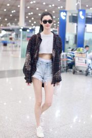 Ming Xi at Airport in Beijing 2018/09/05 2