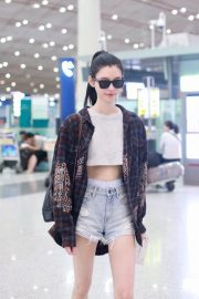 Ming Xi at Airport in Beijing 2018/09/05 7