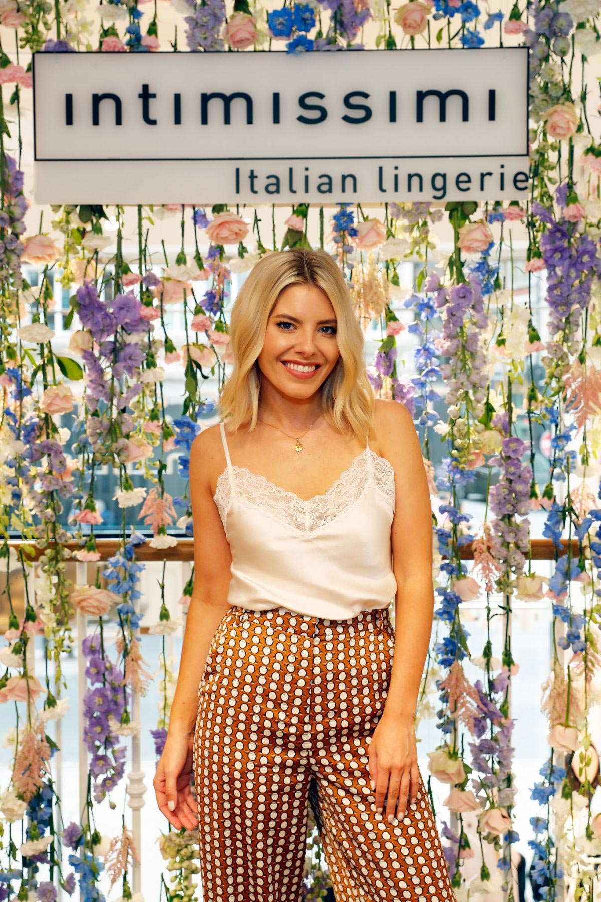 Mollie King at Intimissimi LFW Influencer Lounge in London 2018/09/16 1