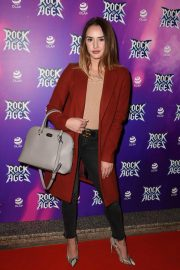Mollie Winnard at Rock of Ages Press Night in Manchester 2018/09/25 1