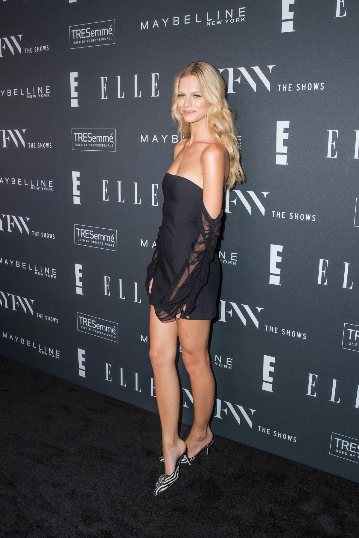 Nadine Leopold at E!, Elle and IMG Party in New York 2018/09/05 1