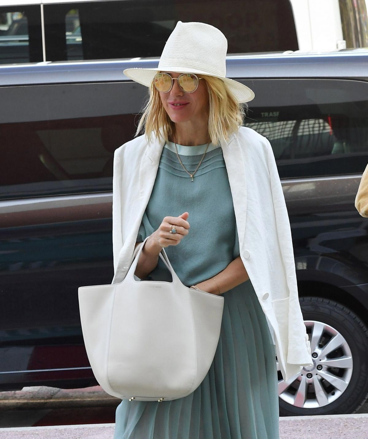 Naomi Watts Arrives at Airport in Venice 2018/08/28 1