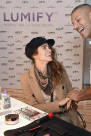 Nikki Reed at Beauty Bar Featuring Lumify Redness Reliever Eye Drops in New York 2018/09/12 3