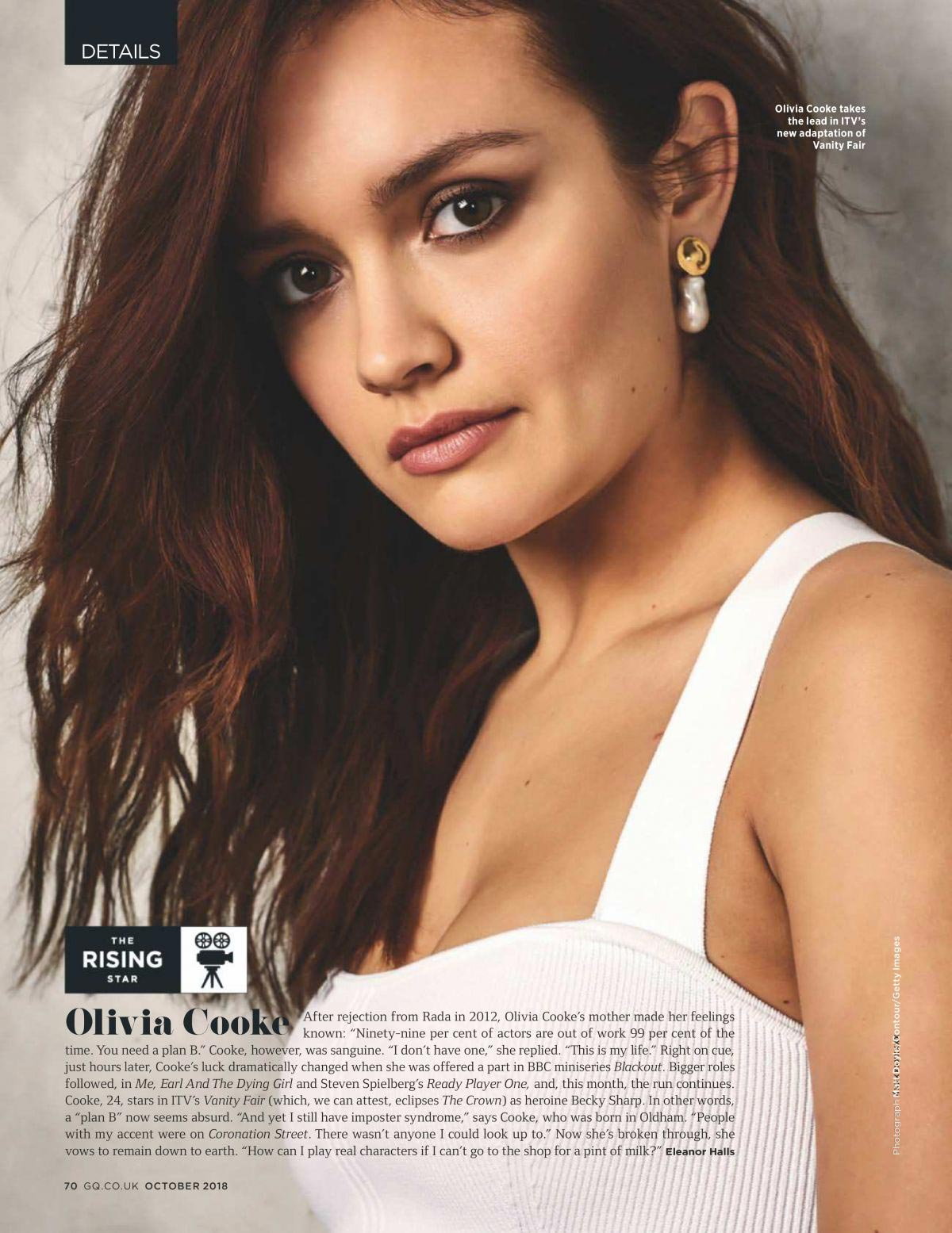 Olivia Cooke for GQ UK Magazine, October 2018 1