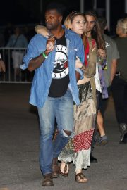 Paris Jackson at The Eagles Concert in Inglewood 2018/09/12 2