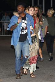 Paris Jackson at The Eagles Concert in Inglewood 2018/09/12 4