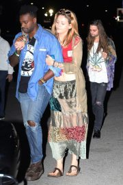 Paris Jackson at The Eagles Concert in Inglewood 2018/09/12 5
