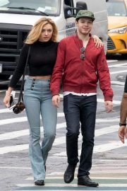 Peyton List in Tight Denim Out in New York 2018/09/11 7