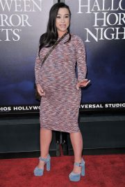 Pregnant Danielle Harris at Halloween Horror Nights Opening in Los Angeles 2018/09/14 4