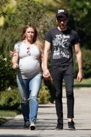 Pregnant Hilary Duff Out in Los Angeles 2018/09/28 4