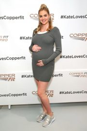 Pregnant Kate Upton at Copper Fit and Kate Upton Launch in New York 2018/09/13 4