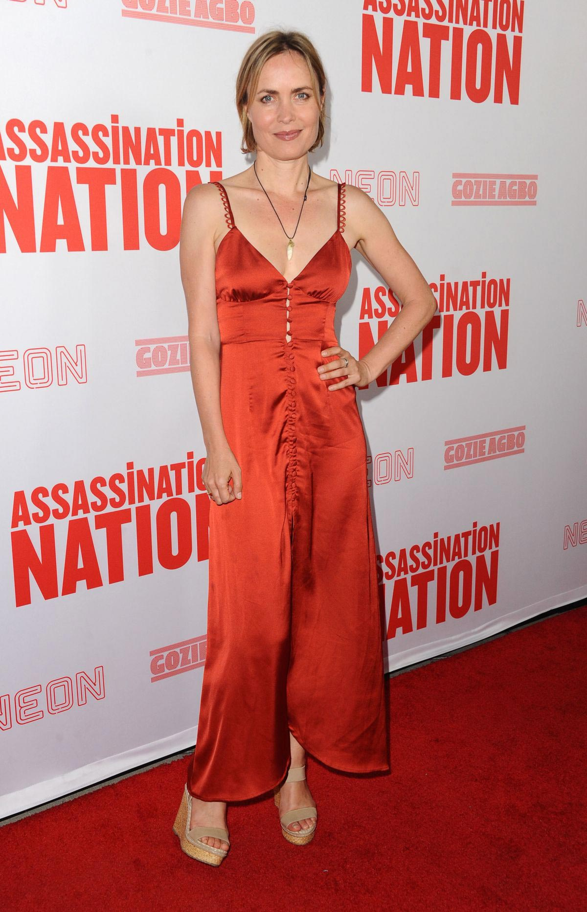 Radha Mitchell at Assassination Nation Premiere in Hollywood 2018/09/12 1