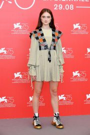 Raffey Cassidy at Vox Lux Photocall in Venice 2018/09/04 1