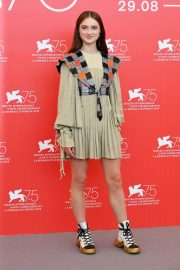 Raffey Cassidy at Vox Lux Photocall in Venice 2018/09/04 3