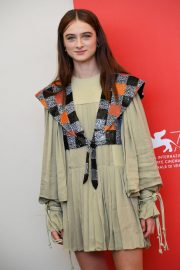 Raffey Cassidy at Vox Lux Photocall in Venice 2018/09/04 4