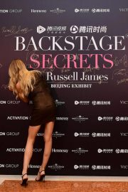 Romee Strijd at Backstage Secrets by Russell James Beijing Exhibit Opening 2018/09/14 1