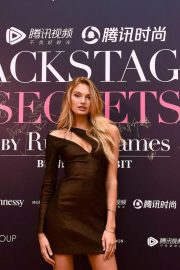 Romee Strijd at Backstage Secrets by Russell James Beijing Exhibit Opening 2018/09/14 3