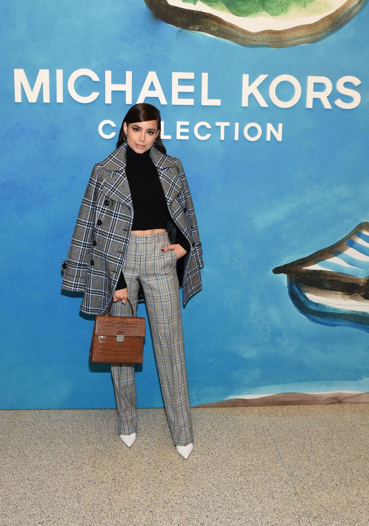 Sofia Carson at Michael Kors Show at New York Fashion Week 2018/09/12 1