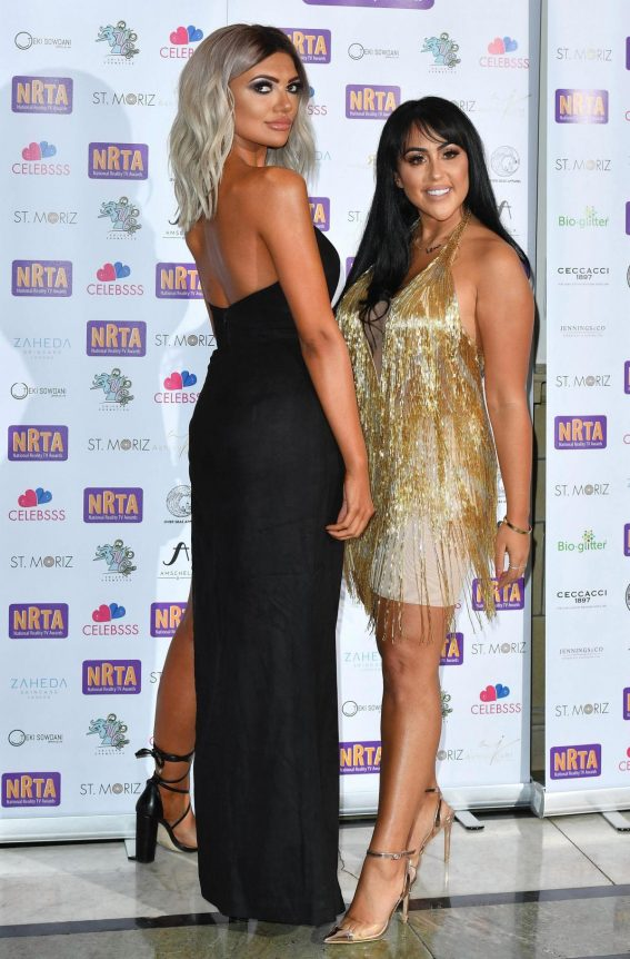 Sophie Kasaei at 2018 National Reality TV Awards in London 2018/09/25 1