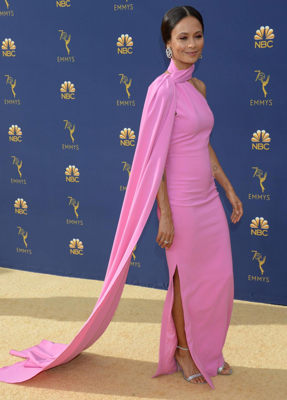 Thandie Newton at Emmy Awards 2018 in Los Angeles 2018/09/17 1