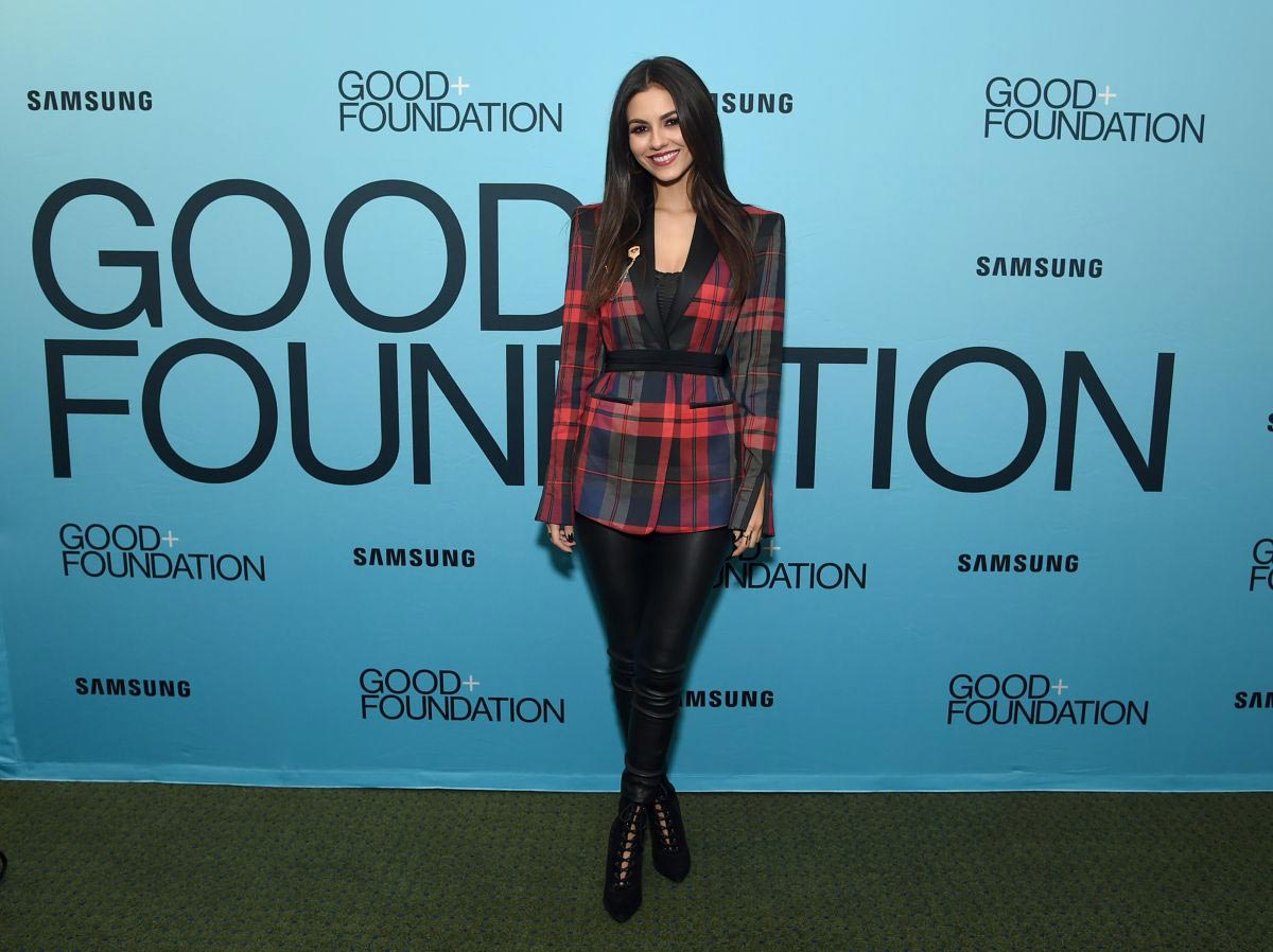 Victoria Justice at Good+ Foundation's Evening of Comedy + Music Benefit in New York 2018/09/12 1